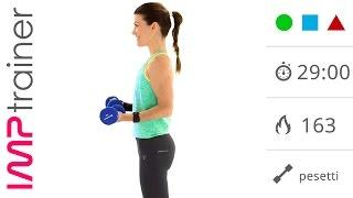 Esercizi Braccia: Allenamento Intenso Per Snellire e Tonificare Braccia E Parte Superiore