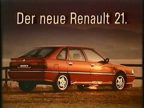 renault 21 werbung 1990 youtube. Black Bedroom Furniture Sets. Home Design Ideas