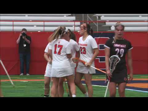 Syracuse women's lacrosse runs away with win over Louisville