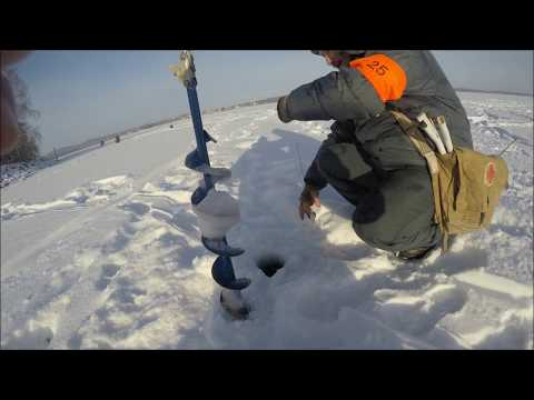 Зимняя блесна Кубок Челябинской области 2017 озеро  Чебаркуль