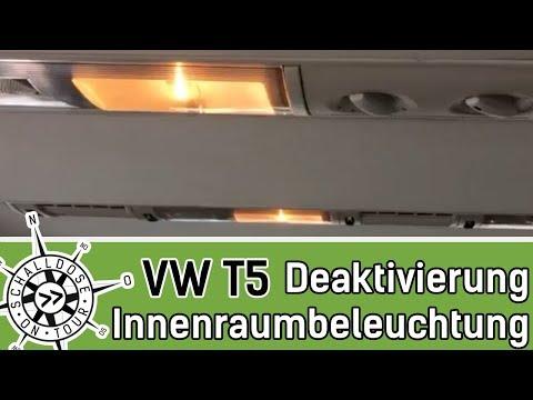 leselampen und beleuchtung beim vw t6 und t5 wechseln a. Black Bedroom Furniture Sets. Home Design Ideas