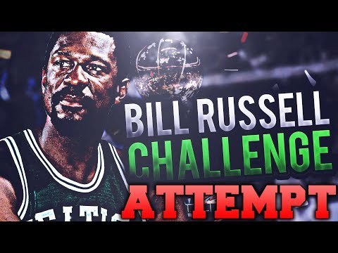 NBA 2K17 BILL RUSSELL IMPOSSIBLE CHALLENGE ATTEMPT!!!