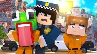 Minecraft Daycare - UNSPEAKABLEGAMING GOES TO PRISON! W/ MOOSECRAFT (Minecraft Kids Roleplay)