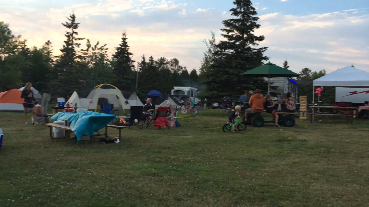 Burlington Bay Campground Motorized Picnic Table