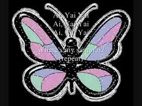 DDR-Butterfly Lyrics