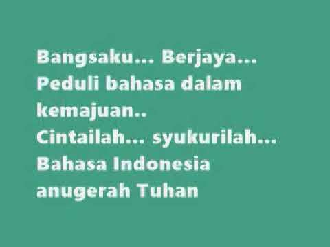 #HIMNE BAHASA INDONESIA LIRIK