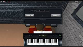 Piranha Plant's Lullaby - Super Mario 64 by: Koji Kondo on a ROBLOX piano.