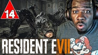 Resident Evil 7 Gameplay Walkthrough Part 14 - BOSS FIGHT MONSTROUS MUTATED JACK - Lets Play RE7