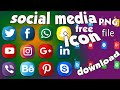 How To Add Social Media Icons PNG To Your Photos - Apple ...