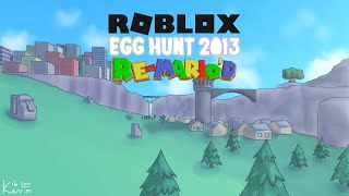 Roblox Egg Hunt 2013 Re-Mario'd Release Trailer