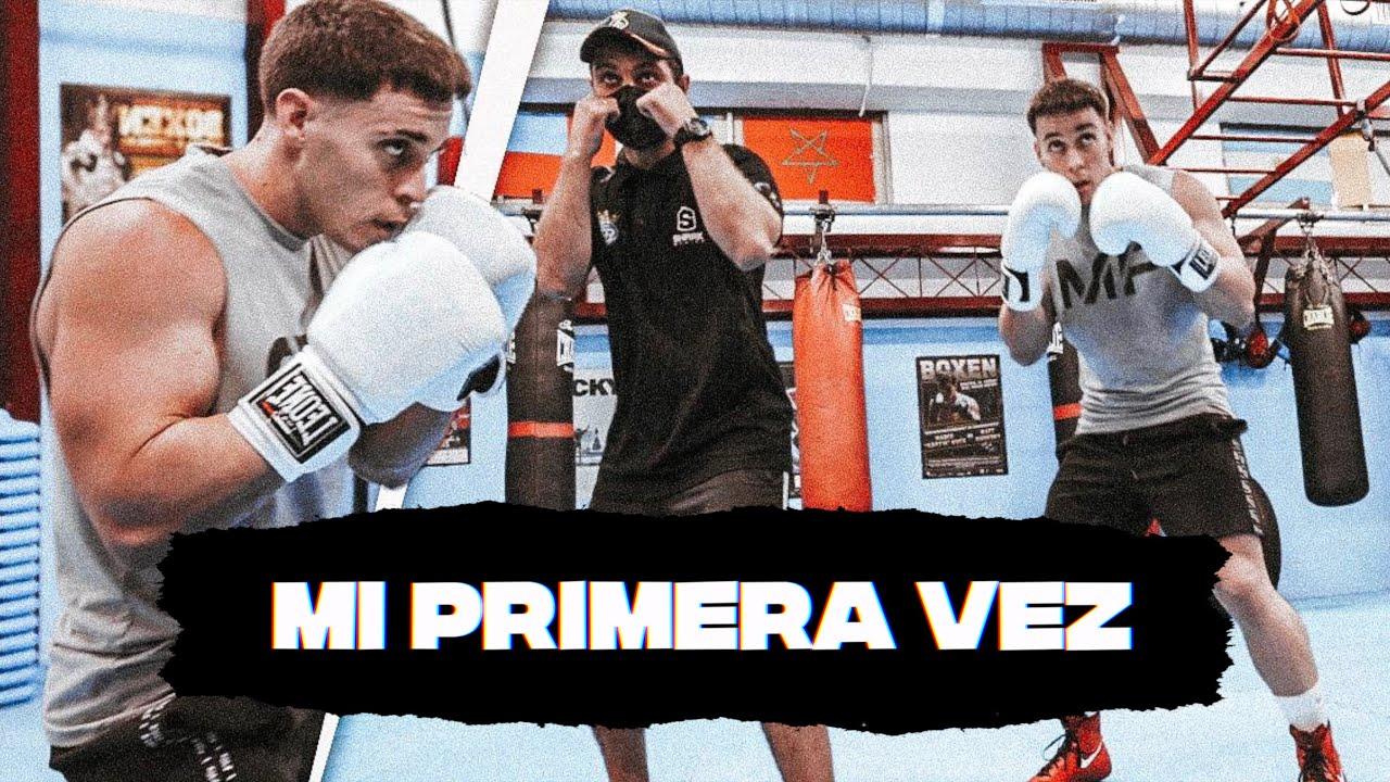 CULTURISTA HACE BOXEO POR PRIMERA VEZ ¿Boxearé contra mi Novia? *The Titan*