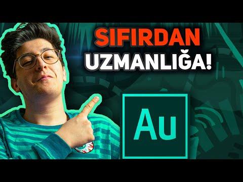 SIFIRDAN Adobe AUDITION