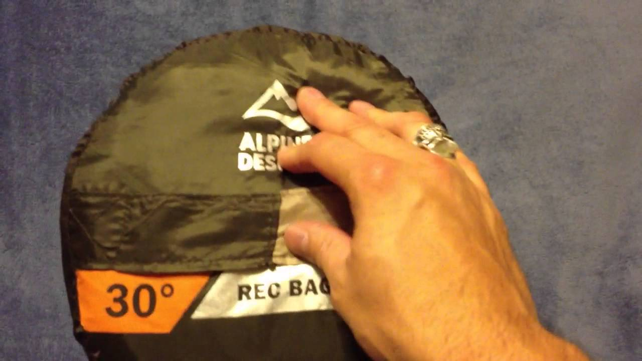 Alpine Designs 30 Sleeping Bag