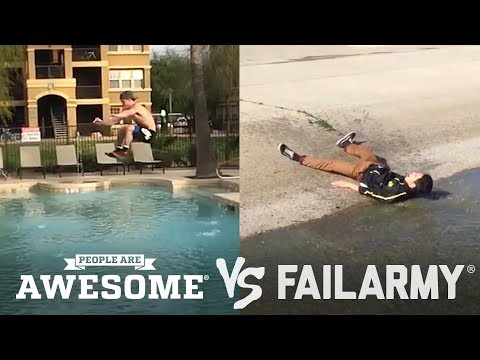 Bouldering & Slacklines | People Are Awesome vs. FailArmy