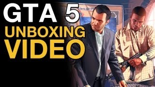 GTA 5 Unboxing Video - VideoGamer