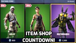 *New* Fortnite Relay and Desert Dominator Skin! (Item Shop Countdown Live)