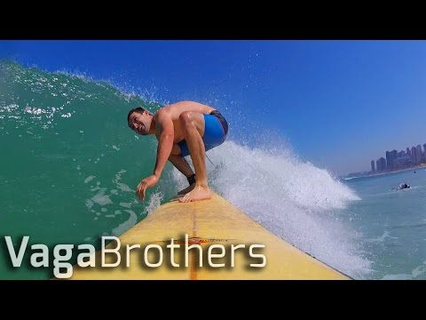 SURFING & BEACH VOLLEYBALL IN COPACABANA | RIO 2016 BRAZIL VLOG
