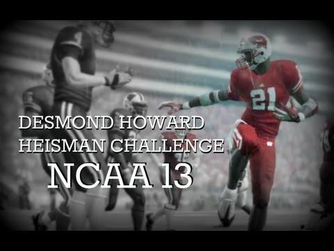 NCAA 13: Desmond Howard Heisman Challenge EP1 ft the Wisconsin Badgers