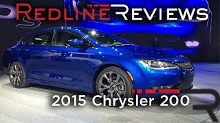 2015 Chrysler 200 Redline: First Look 2014 Detroit Auto Show