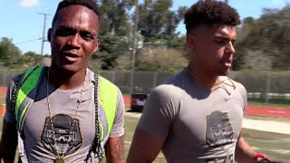 top wr duo in the nation trevon grimes mike harley st thomas aquinas fl
