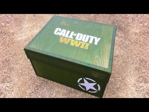 """Unboxing the COD WWII """"Deployment Kit"""""""