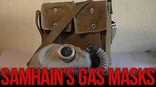 Обзор противогаза ИП-46  | Soviet IP-46 gas mask(Обзор изолирующего противогаз ИП-46. Такие противогазы производились в советском союзе в послевоенные деся..., 2015-11-10T16:15:11.000Z)