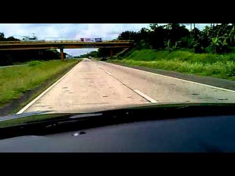 Santa Fe 2.2 Crdi top speed run in Batangas star tollway