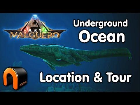 ARK VALGUERO Underground Sea Entrance Location & Tour