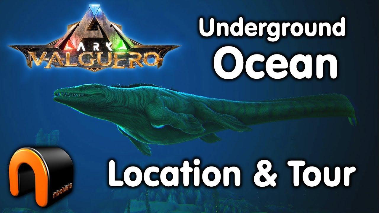 Sea underground