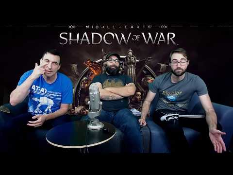 Shadow of War Livestream - Production and QA 100% Playthrough, Act 2 Nurnen, Part 6
