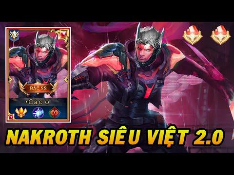 Trang Phục Mới Nakrorh Siêu Việt 2.0 Bậc SS Cực Đẹp Ra Mắt Liên Quân Mobile