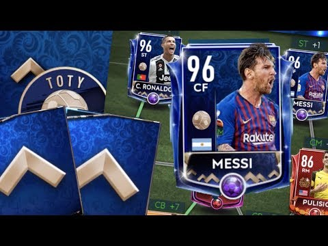 We Got TOTY Messi and Ronaldo in FIFA Mobile 19! F2P Tips and Tricks! How to Get a TOTY Starter!