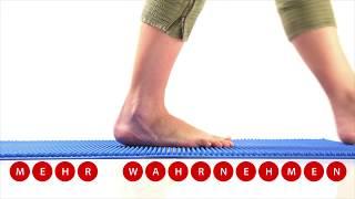 Produktvideo zu Gymnastikmatte Togu Senso 120 x 60 cm Amethyst