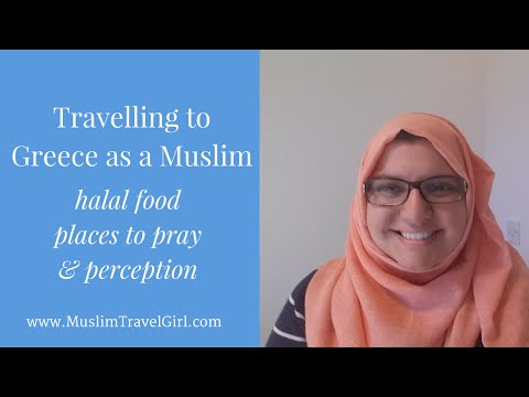 Travelling To Greece As A Muslim, Halal food and Places  | Muslim Travel Girl