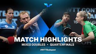 A.Shibaev/Polina Mikhailova vs Nandor Ecseki/Dora Madarasz   WTT Contender Budapest 2021 (1/4)