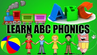 Phonics Song ABC (with music!) Alphabet Song/ABC Song | Kid