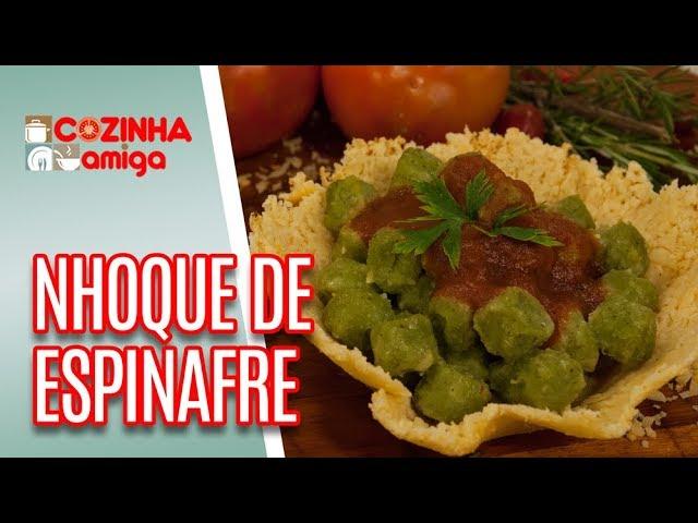 Nhoque de Espinafre - Gabriel Barone | Cozinha Amiga (19/02/19)