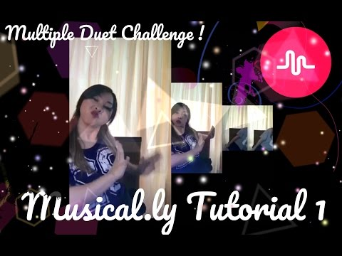 Musical.ly Tutorial #1 - Multiple Duet Challenge ! BAHASA INDO - (English Sub)