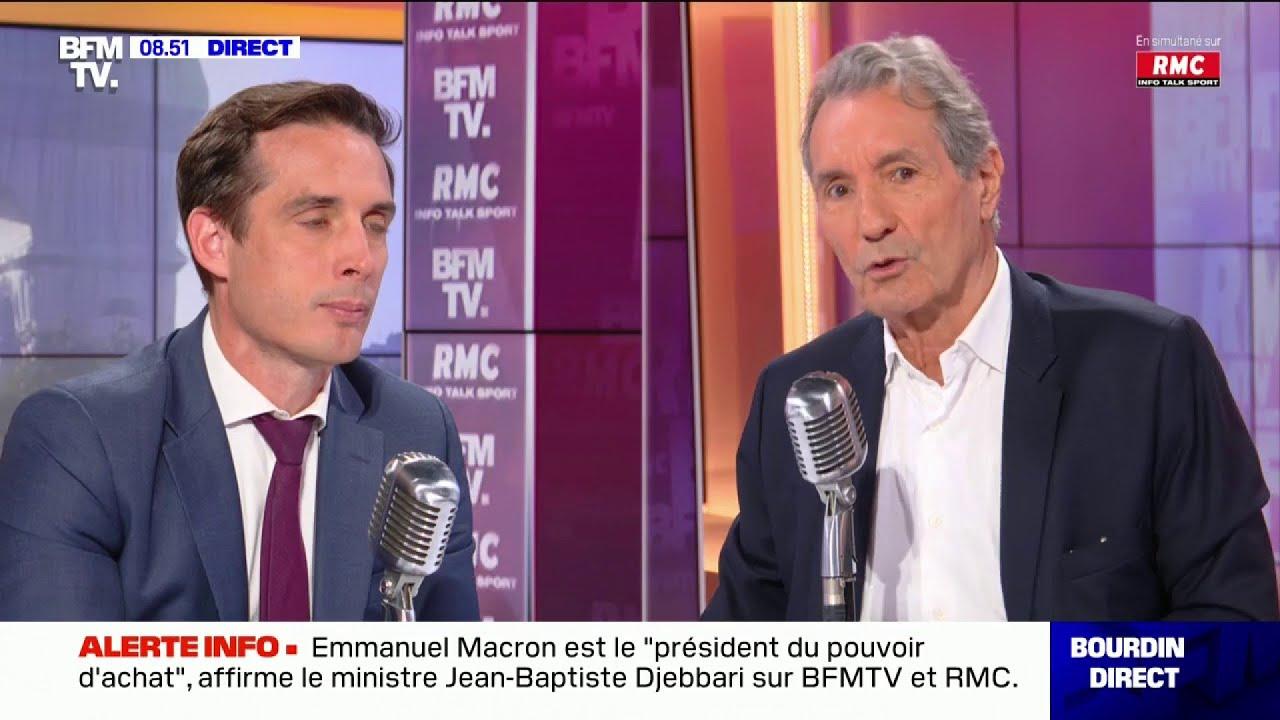 """Download Djebbari : """"Depuis 2017, les Français ont gagné entre 800 et 4 600 euros par an et par ménage""""."""
