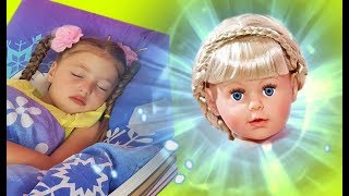 Dominika and the magical appearance of a new doll