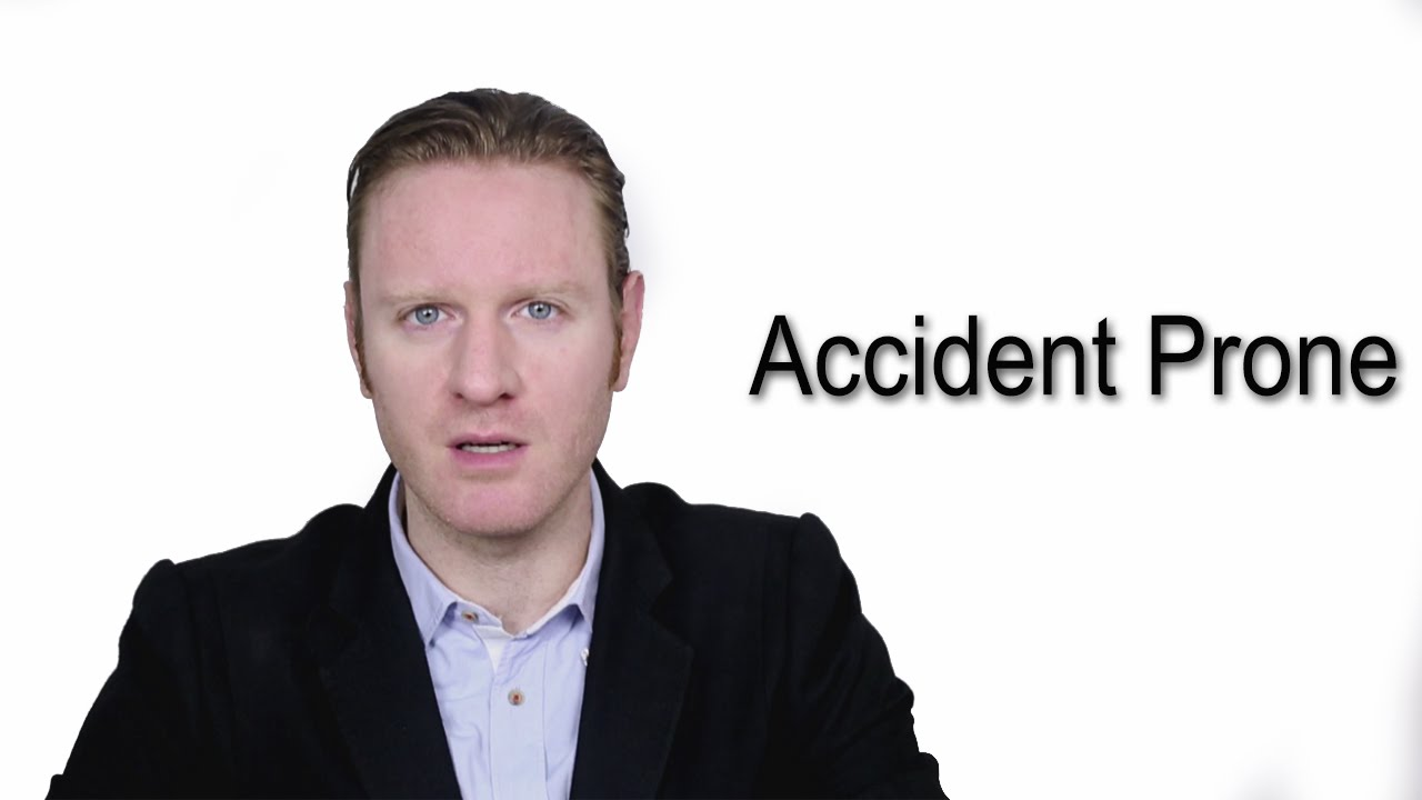 Accident Prone - Meaning | Pronunciation || Word Wor(l)d - Audio Video Dictionary