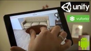 AR, Vuforia & Unity (2019) - Android-Touch Prise zu Skalieren und Drehen mit 3D-Objekten