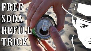 Soda  Refill Trick - Julien Magic