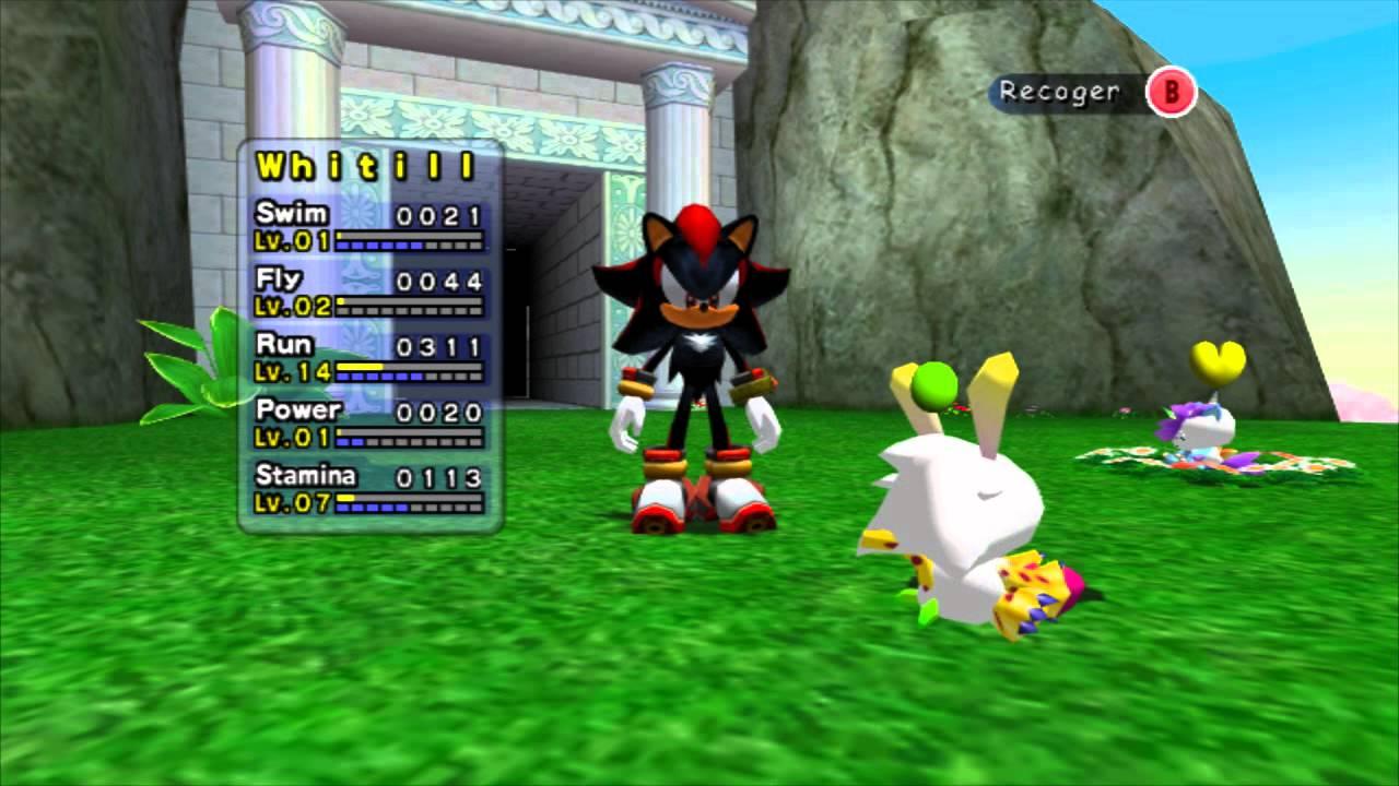 Sonic Adventure 2 Battle Capitulo 26 Chao Garden 2
