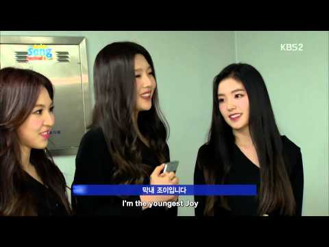 [ENG SUBS] 141108 Red Velvet -  Backstage Interview with AFGAN 2014 Asia Song Festival