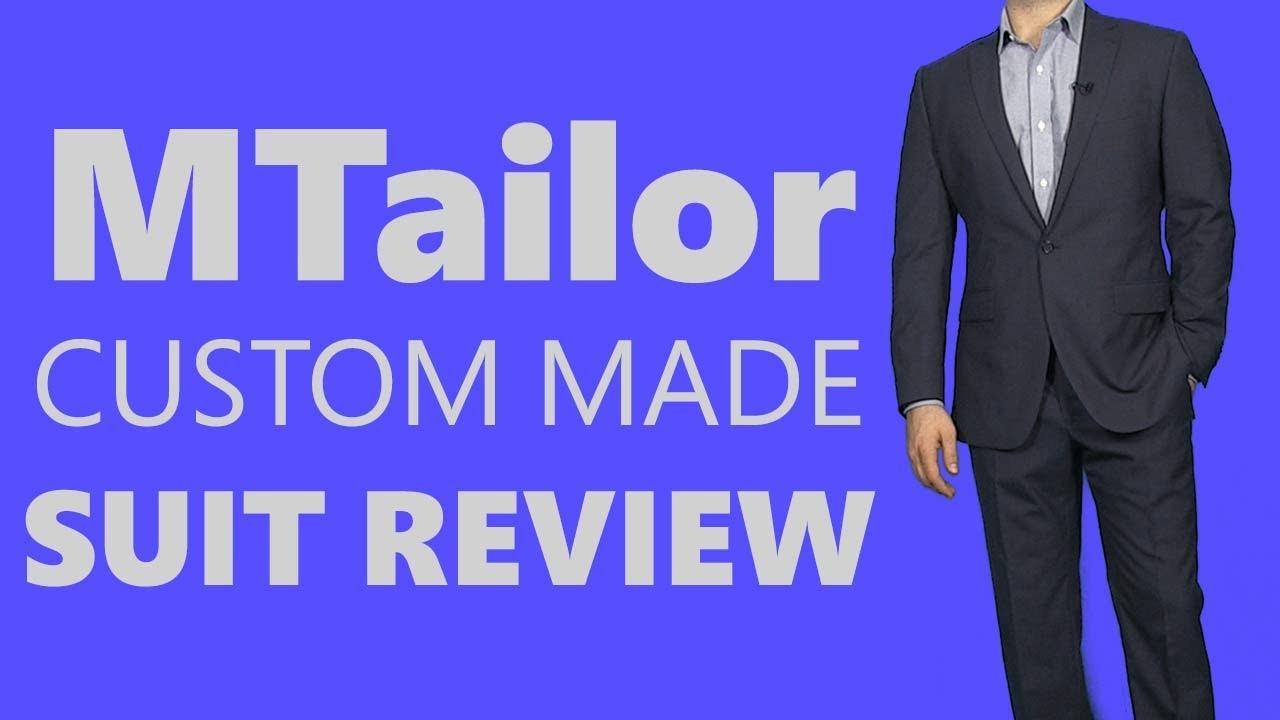 Mtailor Custom Suit Review