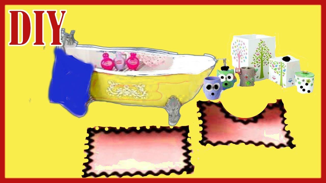How To Make A Bathroom Rug Set Plus Towels Set   YouTube