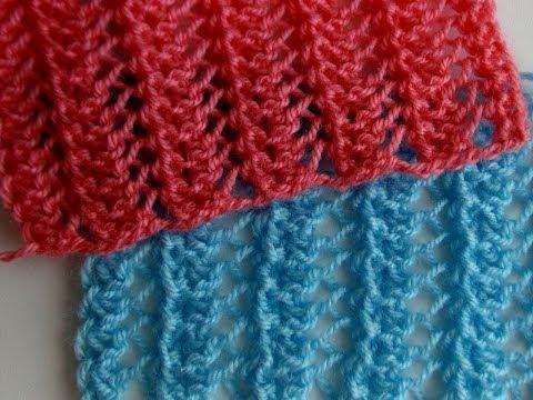 Вязаные шарфы ажурные спицами схемы и описание