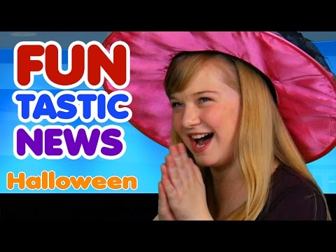 Funtastic News Halloween Jokes and Halloween Facts | Halloween Video for Kids | Educational