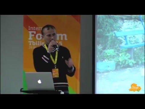 უჩას სკვერი ჩუმლაყში | უჩა ქემაშვილი | Internet Forum Tbilisi 2015